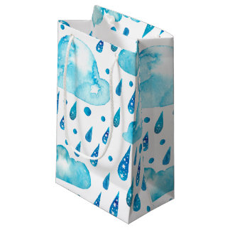 Bunter regnerischer Tag Kleine Geschenktüte