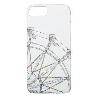 Bunter Riesenrad kaum dort iPhone 7 Kasten iPhone 8/7 Hülle