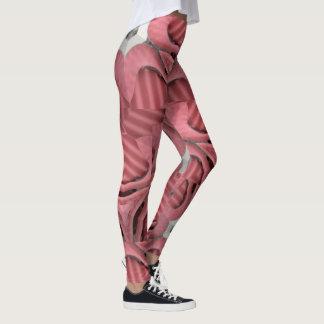 Bunter rosa Druck des Legginsspaßes Leggings