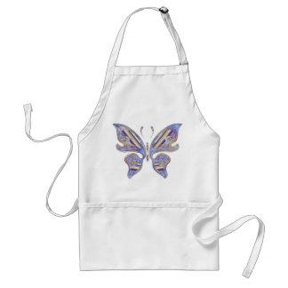 Bunter Schmetterling Schürze