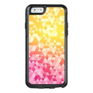 Buntes abstraktes Dreieck-Muster OtterBox iPhone 6/6s Hülle