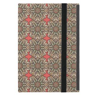 Buntes abstraktes ethnisches Blumenmandalamusterde Etui Fürs iPad Mini