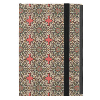 Buntes abstraktes ethnisches Blumenmandalamusterde iPad Mini Schutzhülle