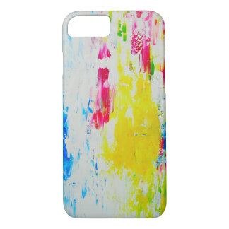 Buntes abstraktes Kunst-Telefon-Kasten-Apple iPhone 8/7 Hülle