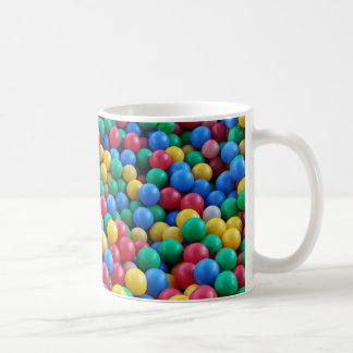 Buntes Ball-Gruben-Ball-Kinderspiel Kaffeetasse