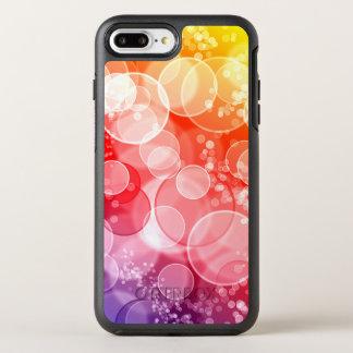 Buntes Blasen-Muster OtterBox Symmetry iPhone 7 Plus Hülle