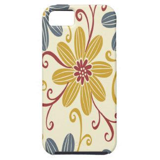 Buntes Blumen iPhone 5 Hülle