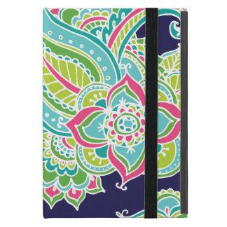 Buntes böhmisches Paisley iPad Mini Etui