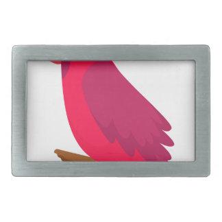 buntes cooles des Vogelkunst-Entwurfs Rechteckige Gürtelschnalle
