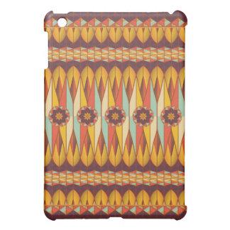 Buntes ethnisches Muster iPad Mini Hülle