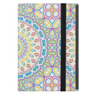 Buntes Frühlings-Mandala-Medaillon iPad Mini Hüllen