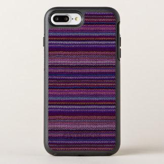 Buntes gestricktes Muster OtterBox Symmetry iPhone 8 Plus/7 Plus Hülle