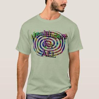 Buntes gewundenes Gesundheitswesen für ALLE T-Shirt