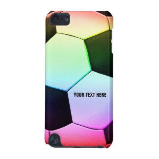 Buntes Girly cooles Geschenk des Fußball-Ball-  iPod Touch 5G Hülle