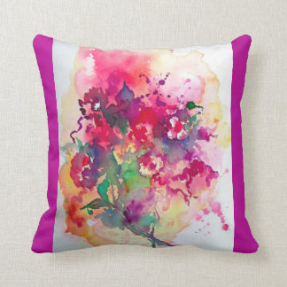 Buntes Kissen der schönen abstrakten Kunst