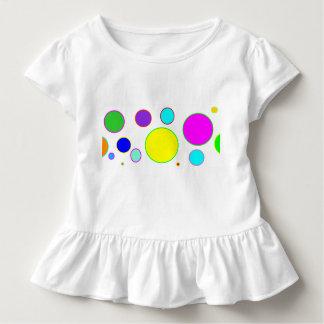 Buntes Kreis-Kleinkind-Shirt Kleinkind T-shirt