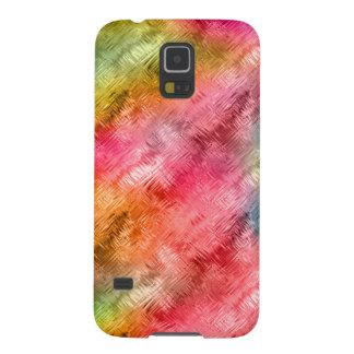 Buntes Kristallglas-Muster Galaxy S5 Cover