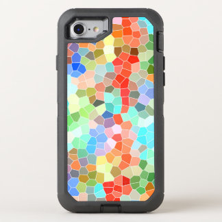 Buntes Mosaik OtterBox Defender iPhone 8/7 Hülle