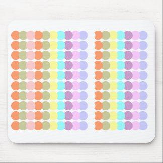 Buntes Papercraft: Durchschlags-Punkt-Patchwork Mousepads