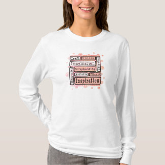 Buntes Scrapbooking T-Shirt