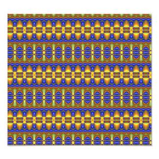Buntes Stammes- einzigartiges Muster Fotos