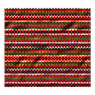 Buntes Stammes- Muster Kunstphotos