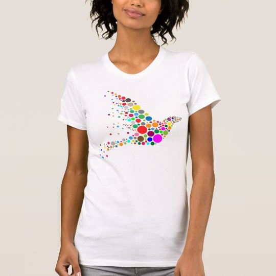 Buntes Vogel-Liebhaber-T-Shirt T-Shirt