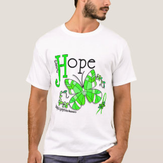 Buntglas-Schmetterling Non-Hodgkins Lymphom T-Shirt