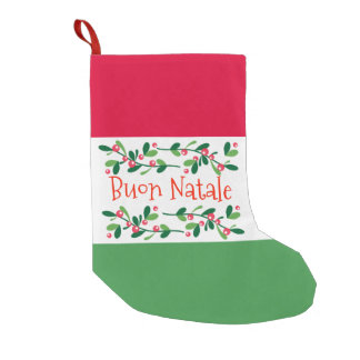 Buon Natale (frohe Weihnachten) Kleiner Weihnachtsstrumpf
