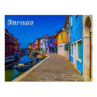 Burano Postkarte