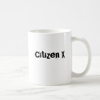 Bürger X Tasse