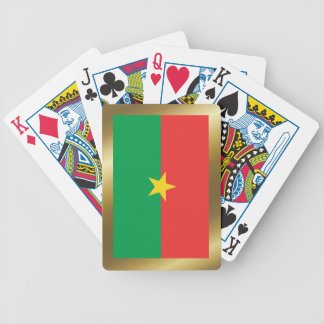 Burkina Faso Flaggen-Spielkarten Bicycle Spielkarten