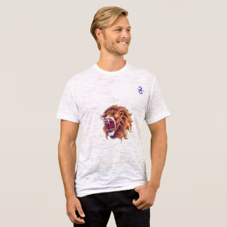 Burnout-T - Shirt-Löwe T-Shirt