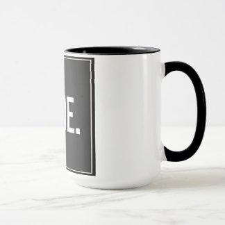 Büro Humor BERGWERK Kaffee-Tasse - personalisiert Tasse