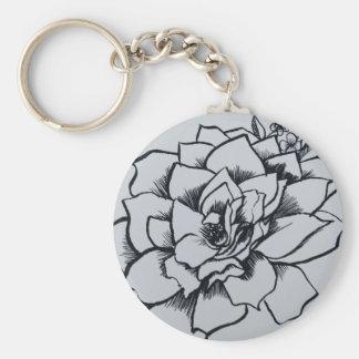 Bürsten-Rose Schlüsselanhänger