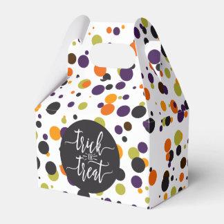 Bürsten-Schriftart-Party Trick-oder Geschenkschachtel