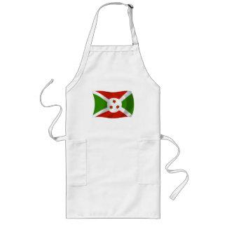 Burundi-Flaggen-Schürze Lange Schürze