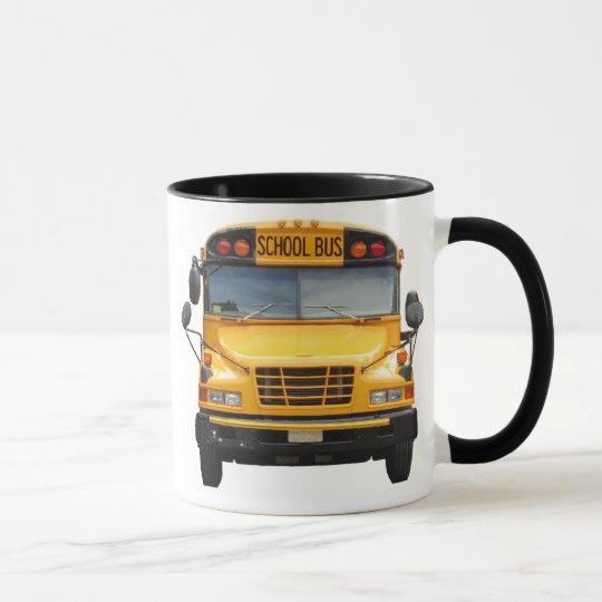 Bus-Front und Rückseite Tasse