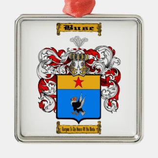 Buse Silbernes Ornament
