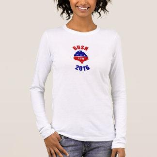 Bush 2016 langarm T-Shirt