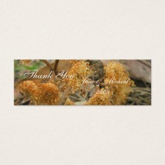 Bush-Schönheit Mini Visitenkarte