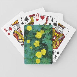 Butterblume-themenorientierte Standardspielkarten Spielkarten