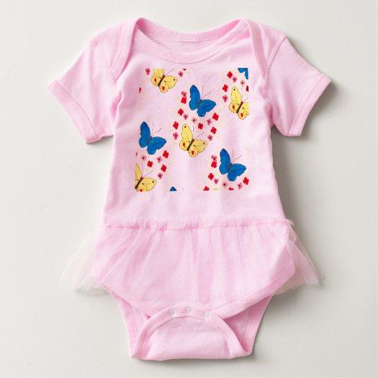 Butterfly Art Love Baby Strampler