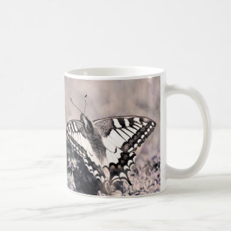 Butterfly mug with Butterfly photography print Kaffeetasse