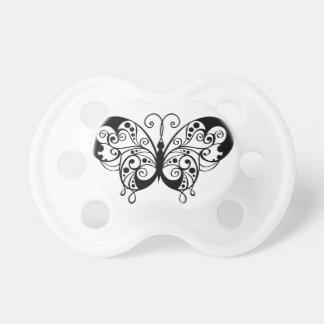 butterfly spiralförmiges Tier Schnuller