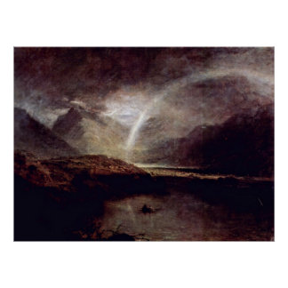 Buttermere See durch Joseph Mallord William Turner Poster