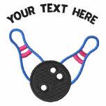 Button des Bowlings-zehn - addieren Sie Ihren Text
