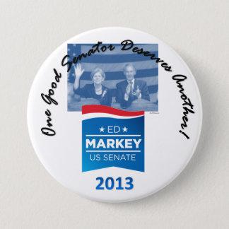 Button Elizabeth Warrren u. Eds Markey
