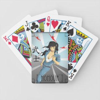 Button herauf Propaganda - Japan Pokerkarten