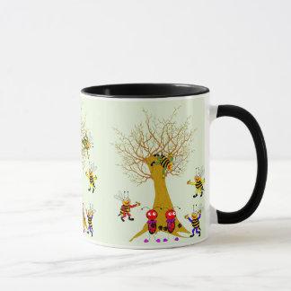 Buzzy Baum-Abenteuer-Tassen-Entwurf Tasse